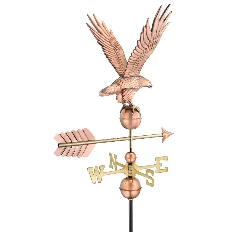 Freedom Eagle Weathervane - Polished Copper (1970P)