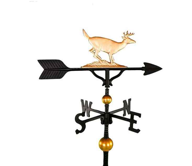 aluminum buck weathervane