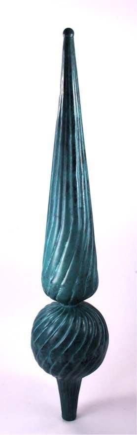small verdigris dalvento florentine finial