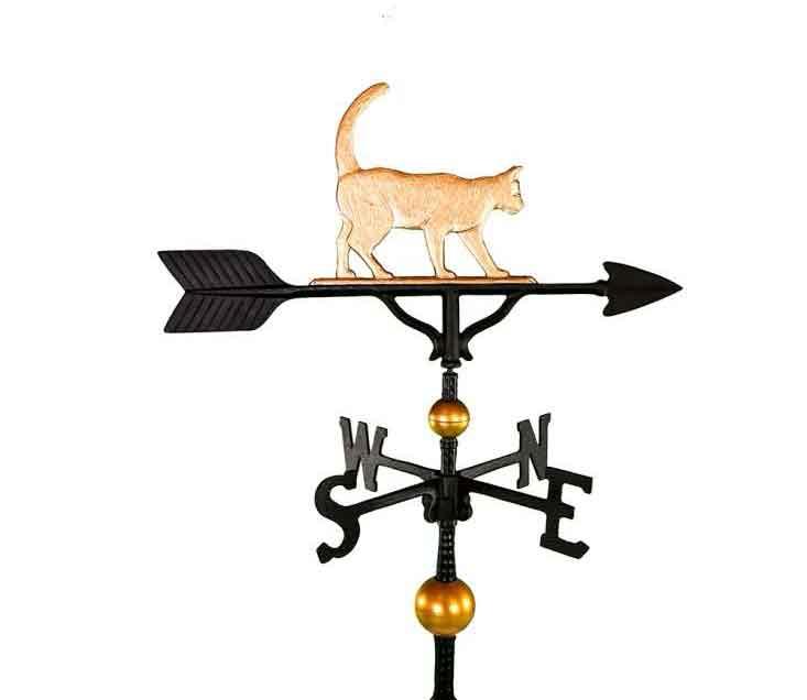aluminum cat weathervane