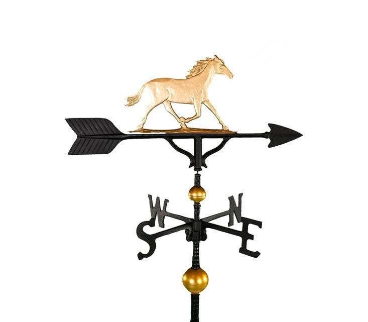aluminum horse weathervane