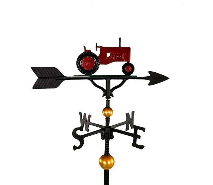 aluminum tractor weathervane