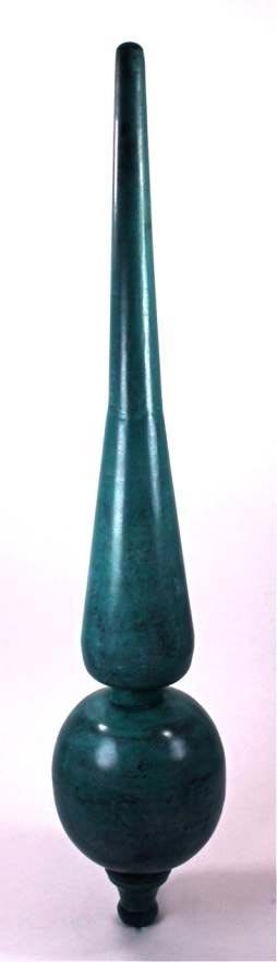 "DALVENTO ""ROMAN"" FINIAL – VERDIGRIS (Medium)"