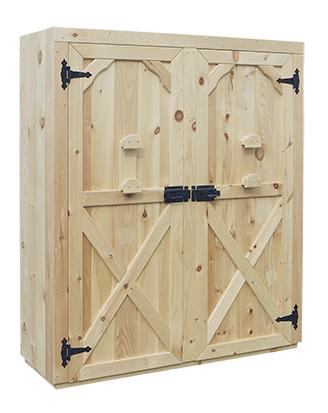 OPTIONAL X STYLE DOOR – DOUBLE DOOR CABINET (CXSD-D)