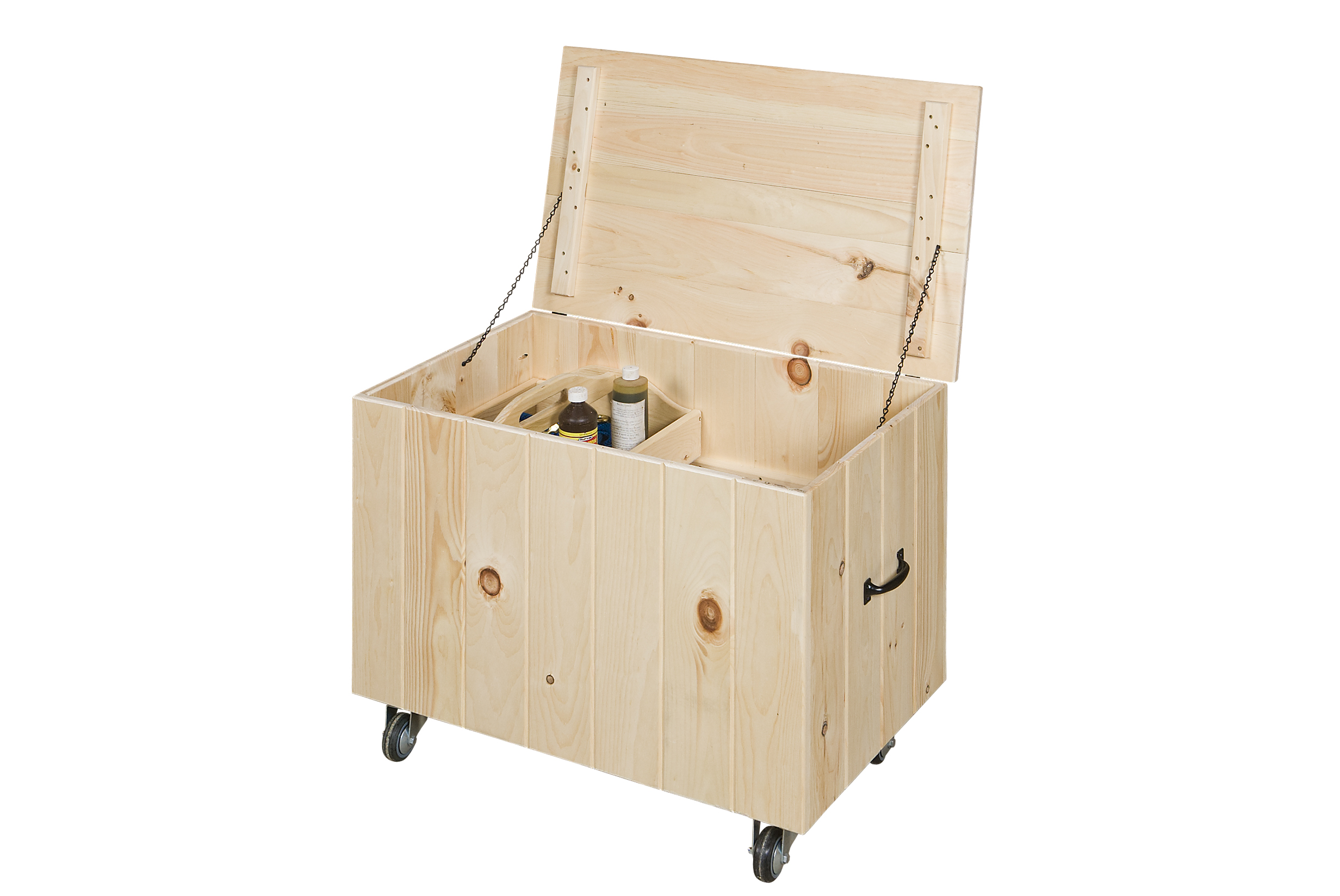 TACK BOX WITH GROOMING TRAY (CTB-GT)