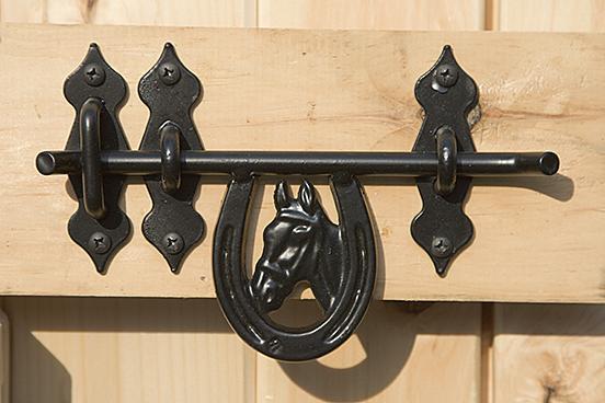 double door cabinet optional horseshoe latch