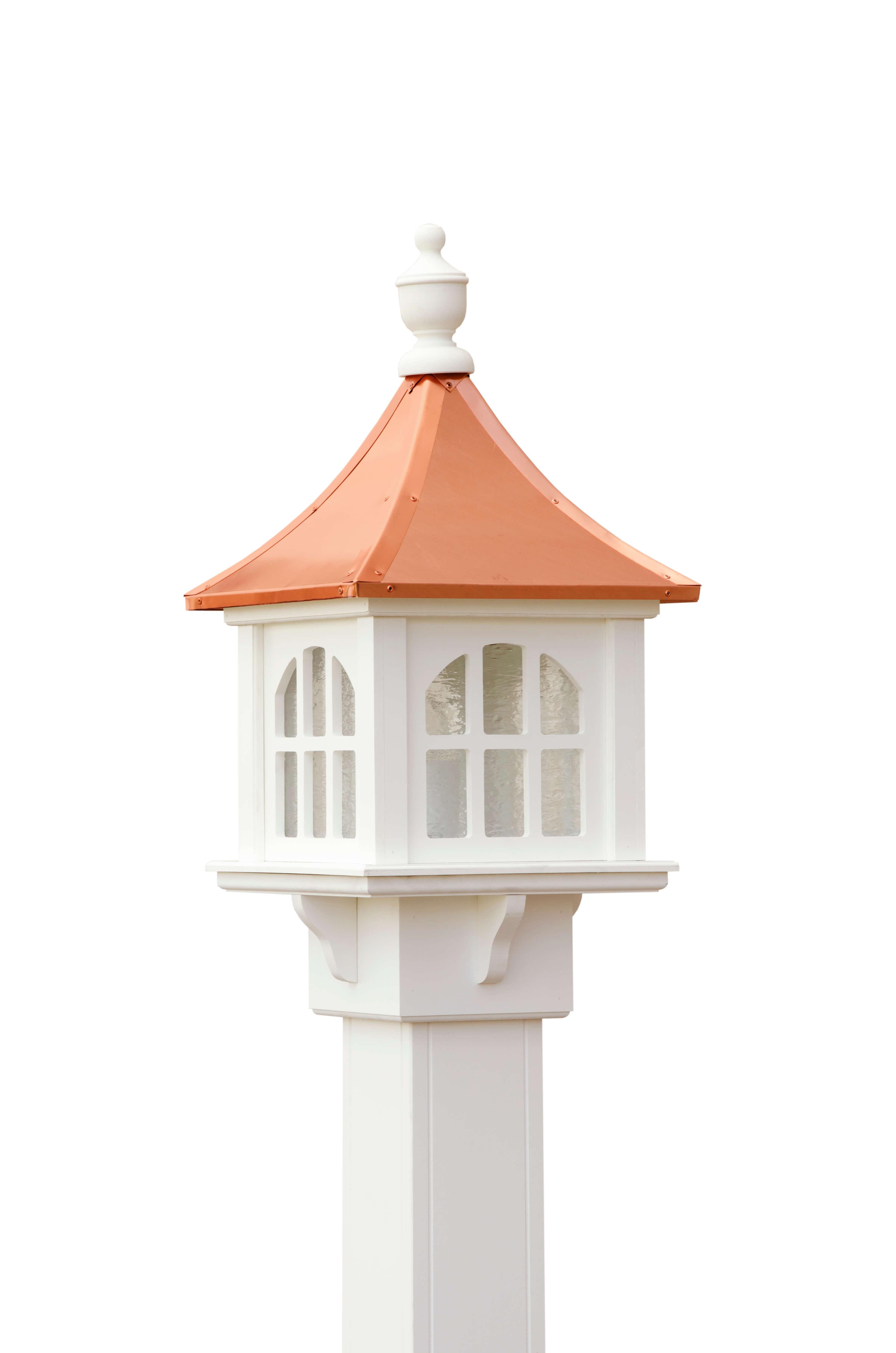 copper cupola post lantern