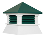 COLORED SHED CUPOLAS (S8VM-CRL)