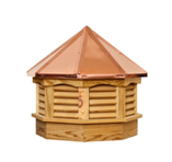 PINE & COPPER GAZEBO CUPOLAS (S9TC)