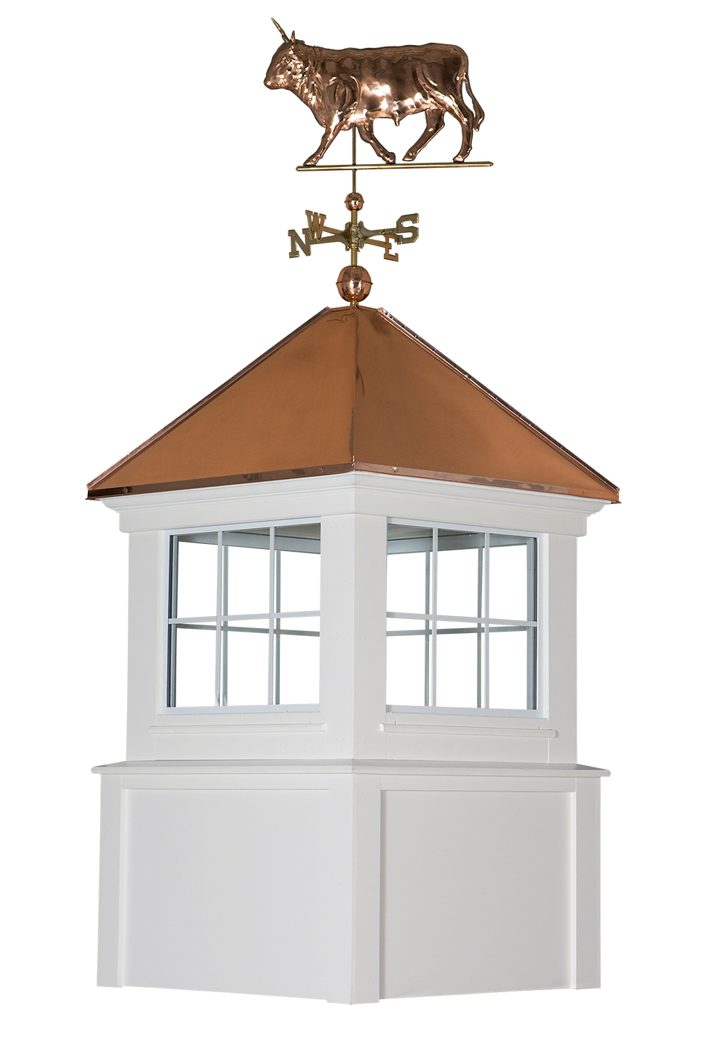 franklin cupola with weathervane