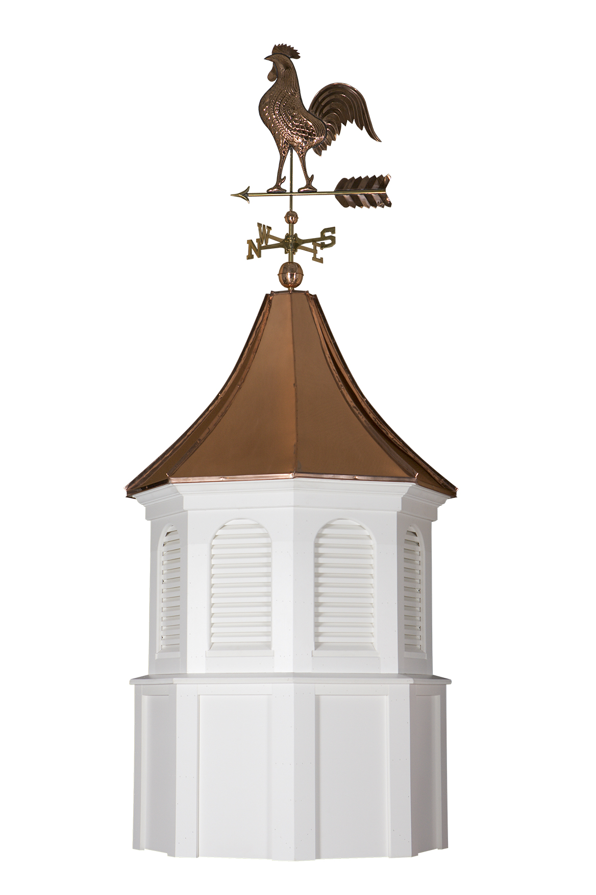 harvard cupola with weathervane and finial