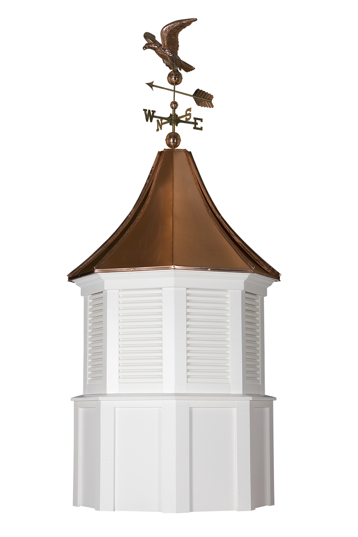 standford cupola with weathervane and finial