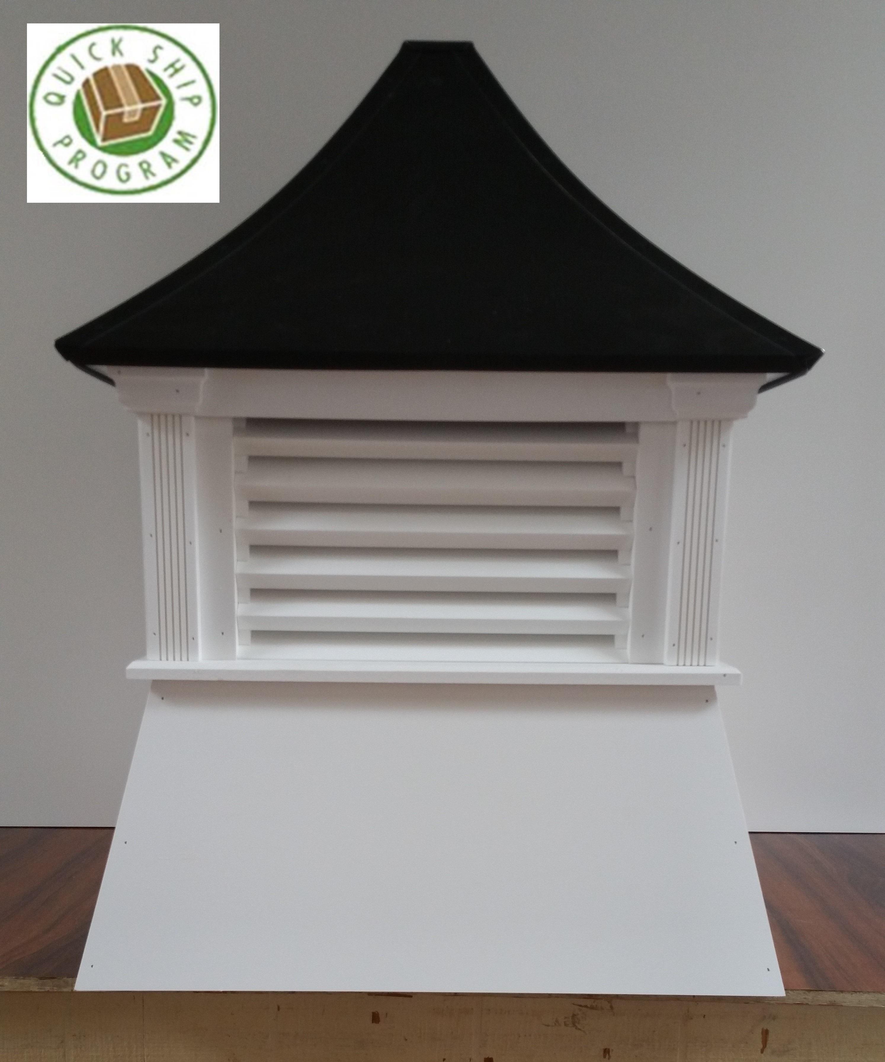 noble cupola with quick ship program logo