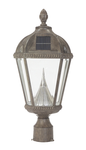 ROYAL SOLAR POST LANTERN (SLNR)