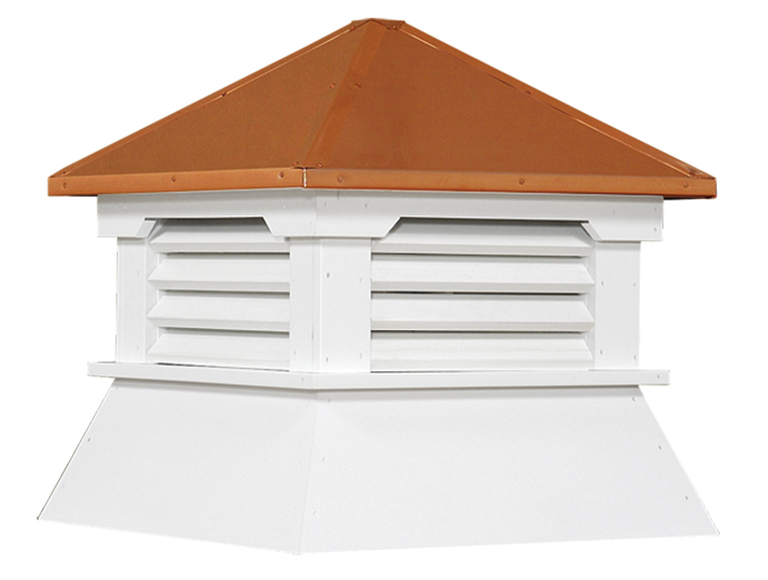 COPPER SHED CUPOLAS (S8CPR)