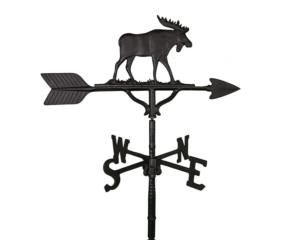 aluminum moose weathervane