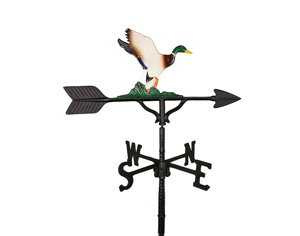 ALUMINUM DUCK WEATHERVANE (WV-270-C)