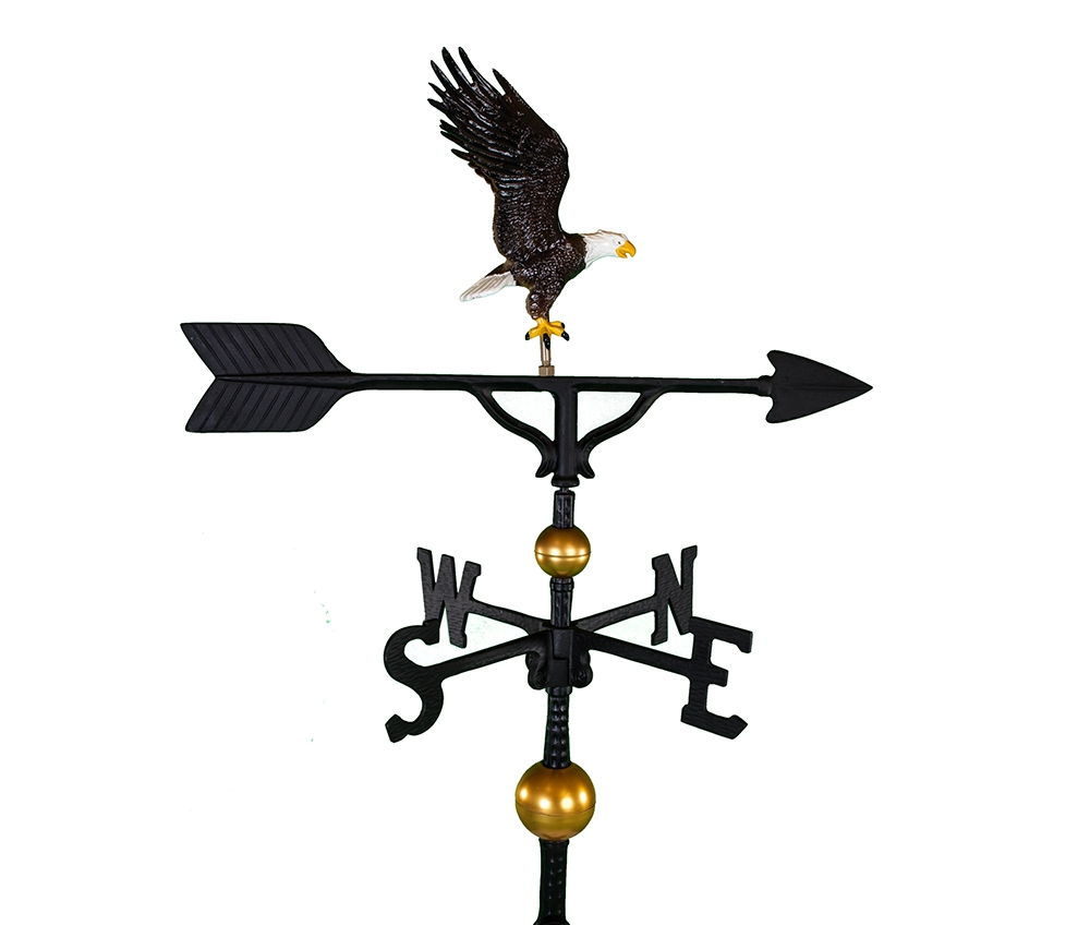 ALUMINUM BALD EAGLE WEATHERVANE (WV-302-C)