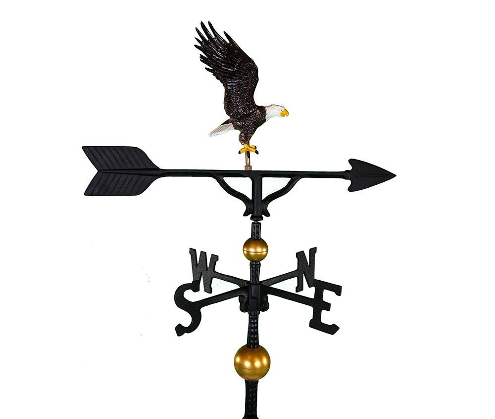 aluminum bald eagle weathervane