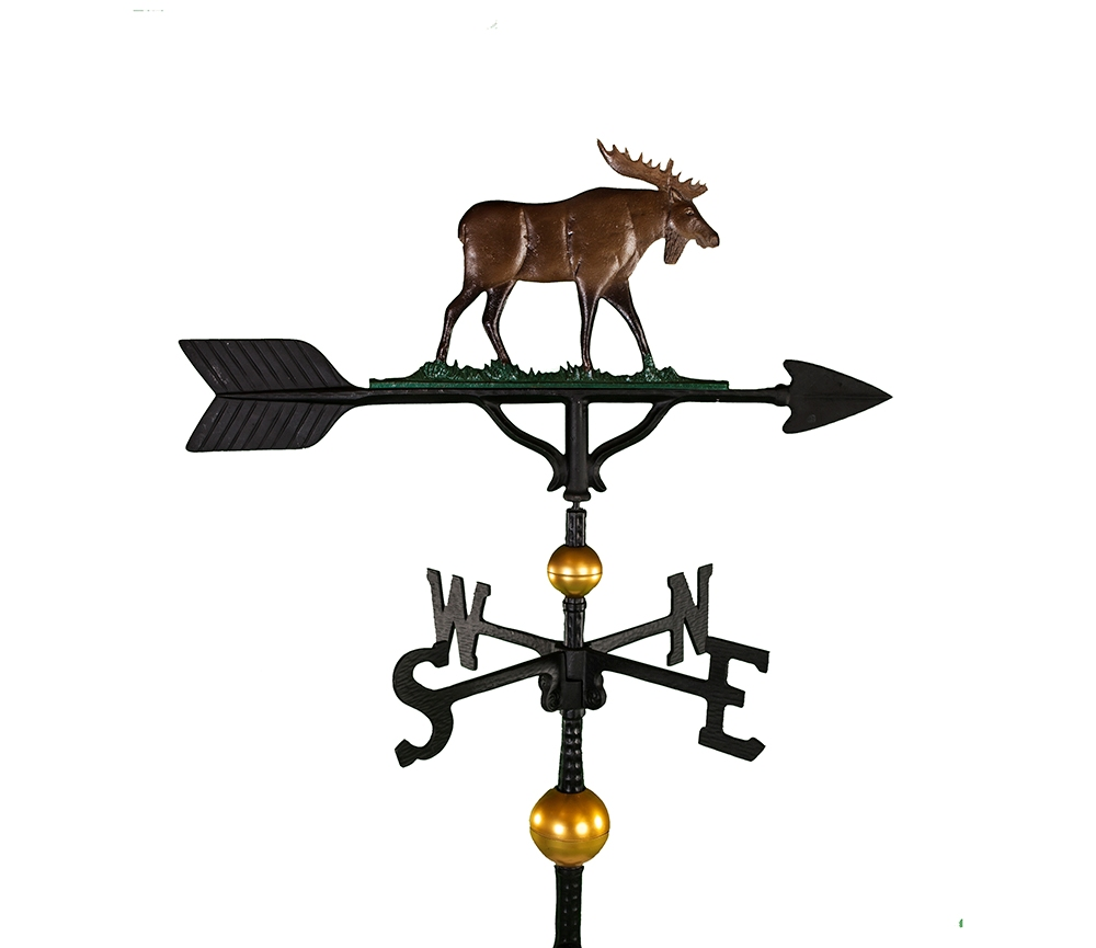 aluminum moose weathervane
