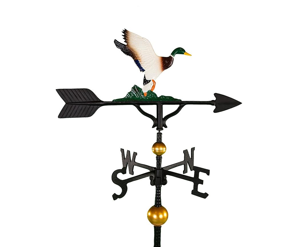 aluminum duck weathervane