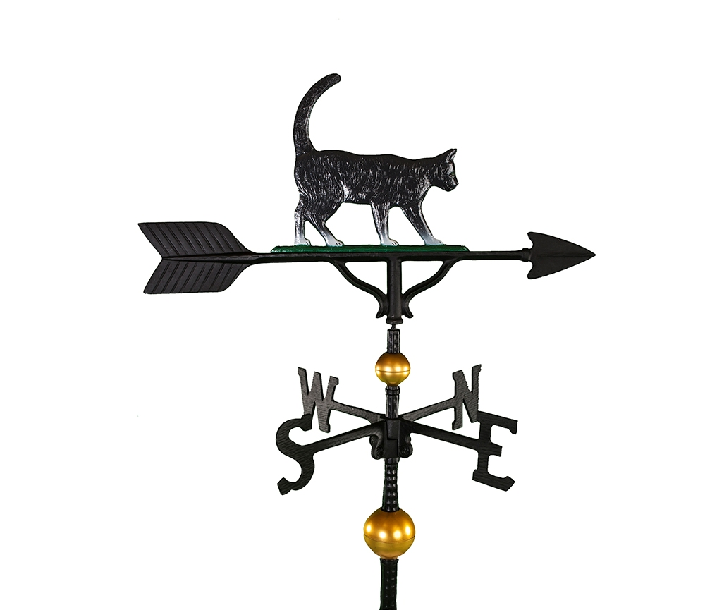 aluminum cat weathervane